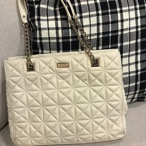 Kate Spade ♠️ quilted leather tote